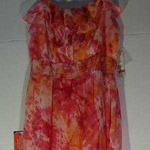 Dresses & Skirts - Tie-Dyed Maxi Dress